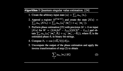 Quantum linear system algorithm for dense matrices